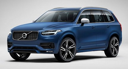 ������ ������� ����� XC90 2015 ��� ��������, � R-Design Package ����