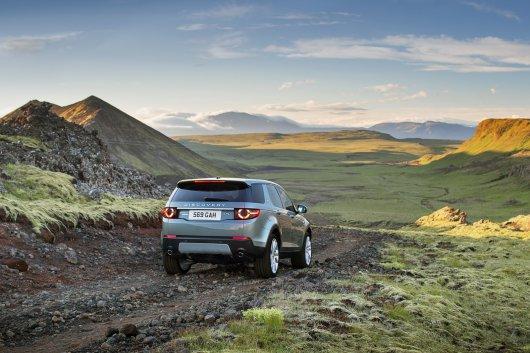 Новый 2015 Land Rover Discovery Sport, подробности в фотографиях