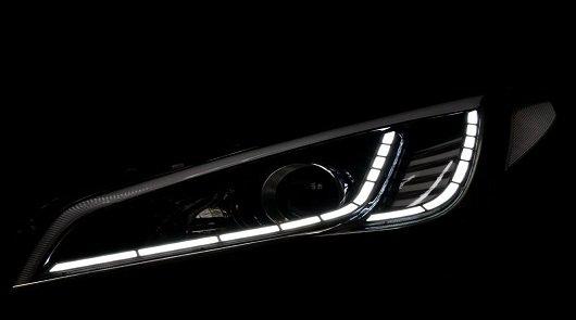 2015 Hyundai Sonata Goes LED - удивительная оптика из Кореи