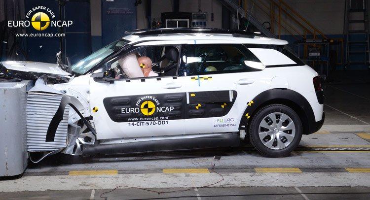 Citroen C4 Cactus получил 4 звезды по результатам краш-тестов Euro NCAP
