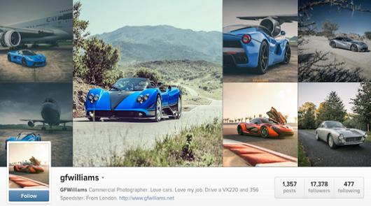Топ-10 интересных автомобильных страниц в Instagram