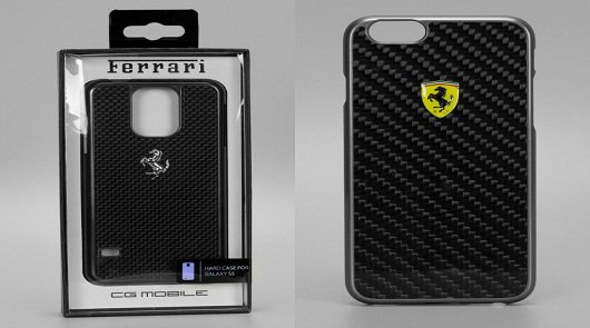 Ferrari ��������� ������������ ������� ������ � ���������� iPhone 6 � Samsung S5 ����