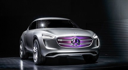 2014 Los Angeles Motor Show ������: Mercedes-Benz Vision G-Code ������� ����