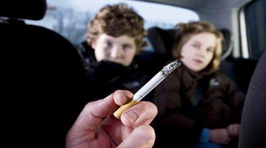 Запрет на курении в автомобиле