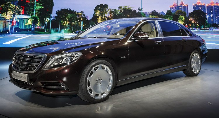 Mercedes Maybach S Class, ����������, ������ ����������� �������������� ����