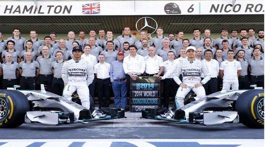 2014 год: Итоги Чемпионата гонок Формулы-1