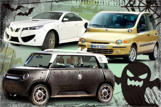 Самые страшные автомобили в <u>страшные дизайны</u> мире
