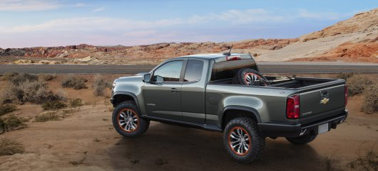 Дизельный Chevy Colorado ZR2 концепт на LA Auto Show