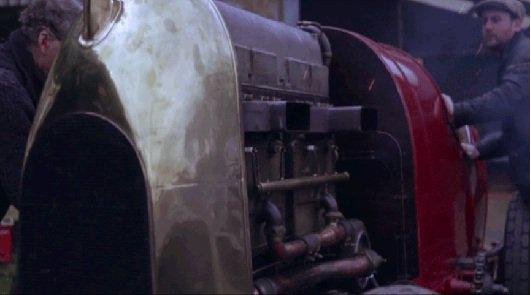 Смотреть как работает 28.5 литровый двигатель 1910-1911 Fiat