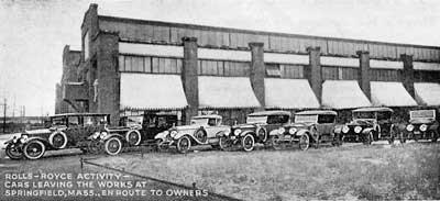 Немного истории и фотографии автомобильных заводов