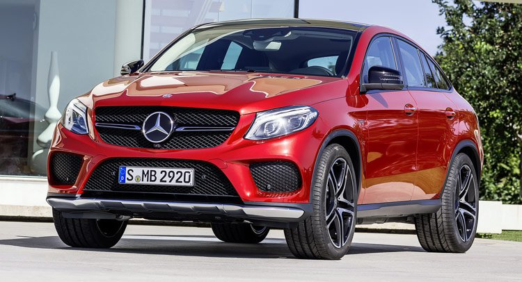 GLE ���� ����� Mercedes ���������� BMW X6: ����������� ���������� ����