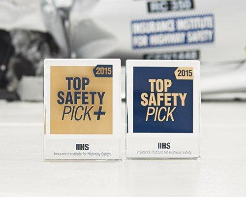 Самые безопасные автомашины 2015-2016 года