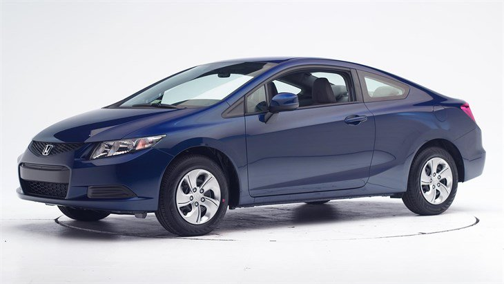 Краш-тест 2015 Honda Civic 2-дверный фото