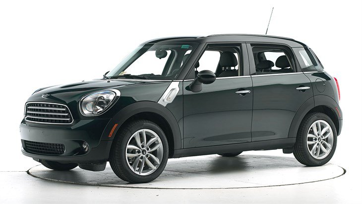 Краш-тест 2015 Mini Cooper Countryman