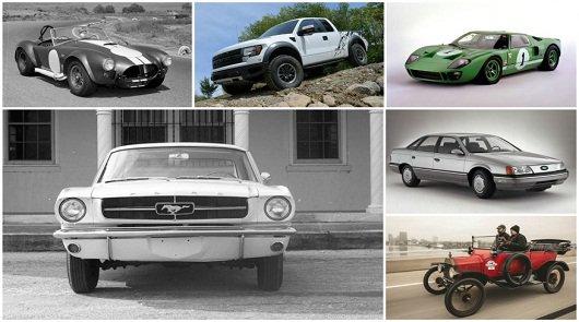 20 самых лучших автомобилей Форд
