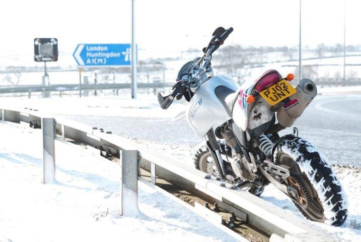 К зиме 1 общая подготовка мотоцикла к