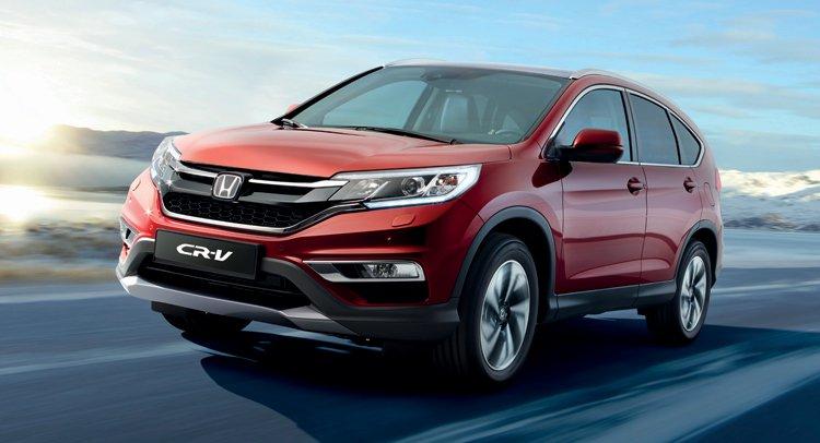 Honda показала рестайлинговый кроссовер 2015 CR-V для рынка Европы