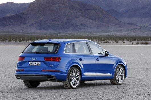 Подробный обзор 2016 Audi Q7, технические характеристики, новые фотографии