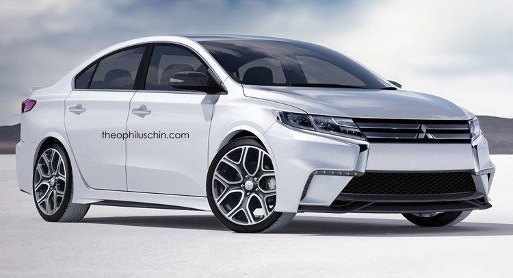 В конце 2015 года может быть представлен новый Mitsubishi Lancer