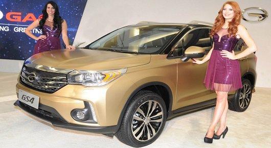 Китайский автопроизводитель GAC в Детройте