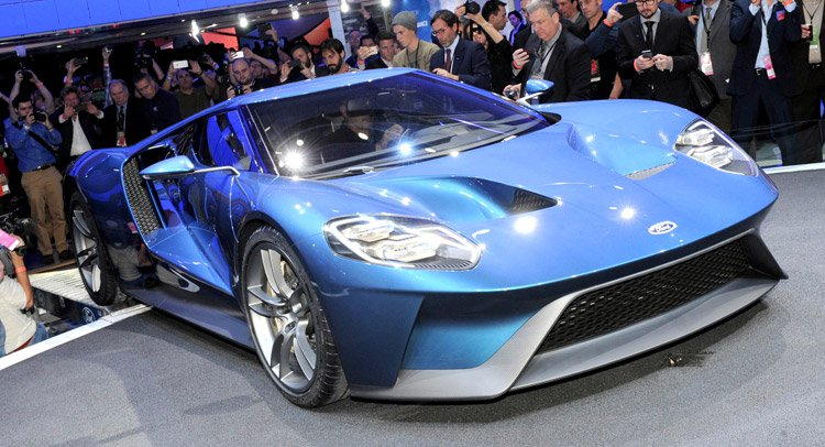 5 ����� ������� �������� � 2017 Ford GT