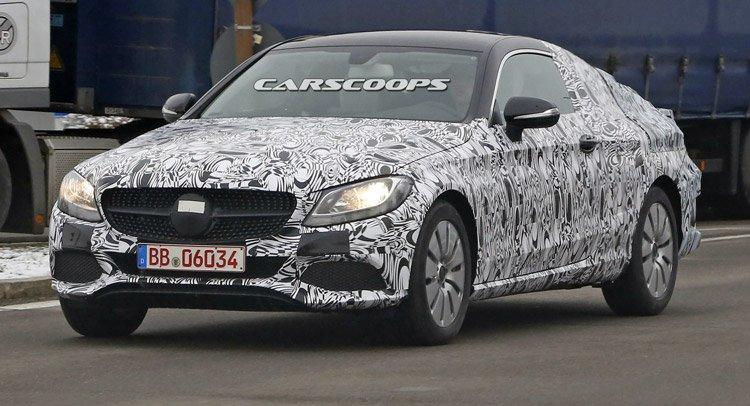 Новый Mercedes C-Class Coupe, выглядит как мини S-Class