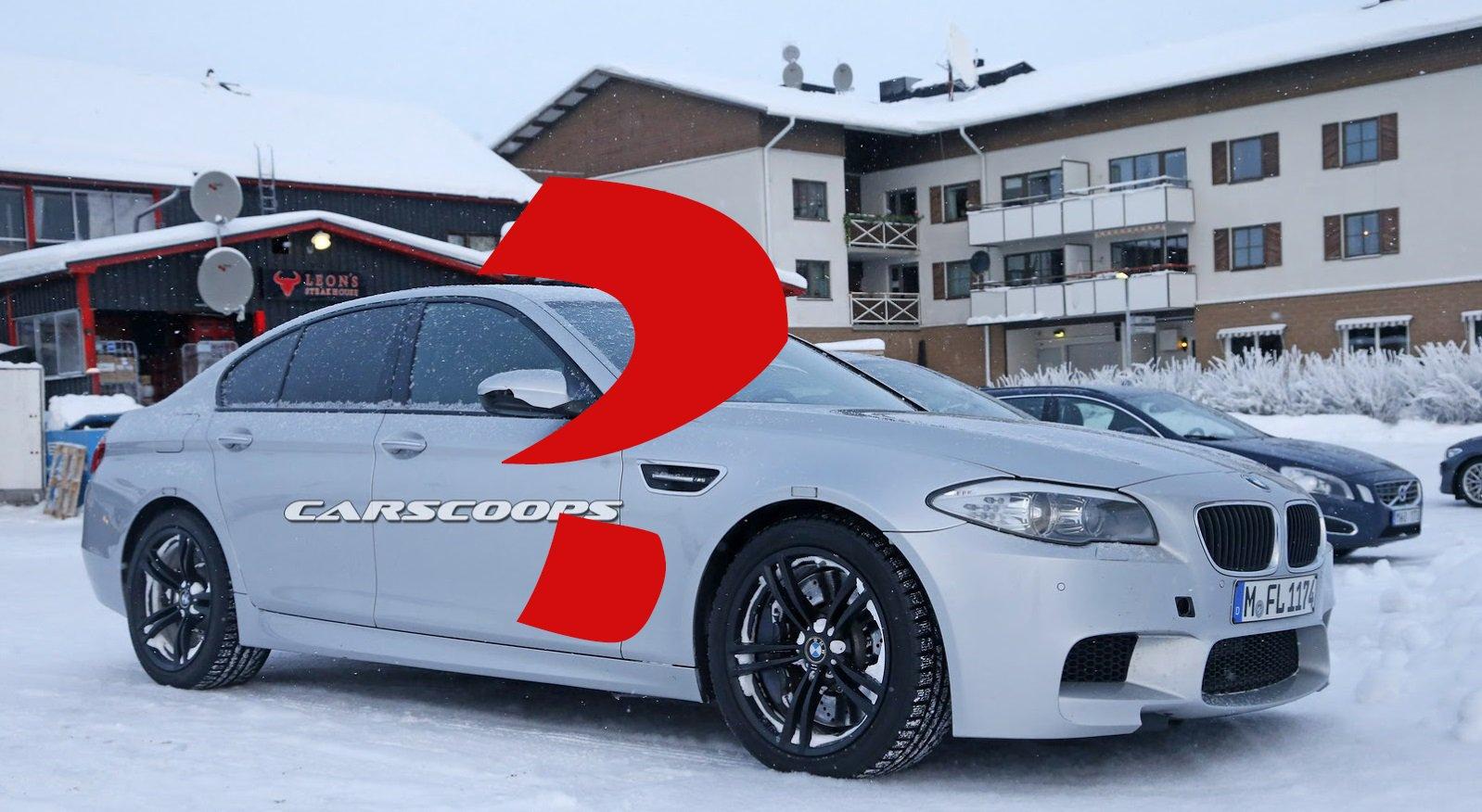 Полноприводная BMW M5? Именно, есть доказательства!