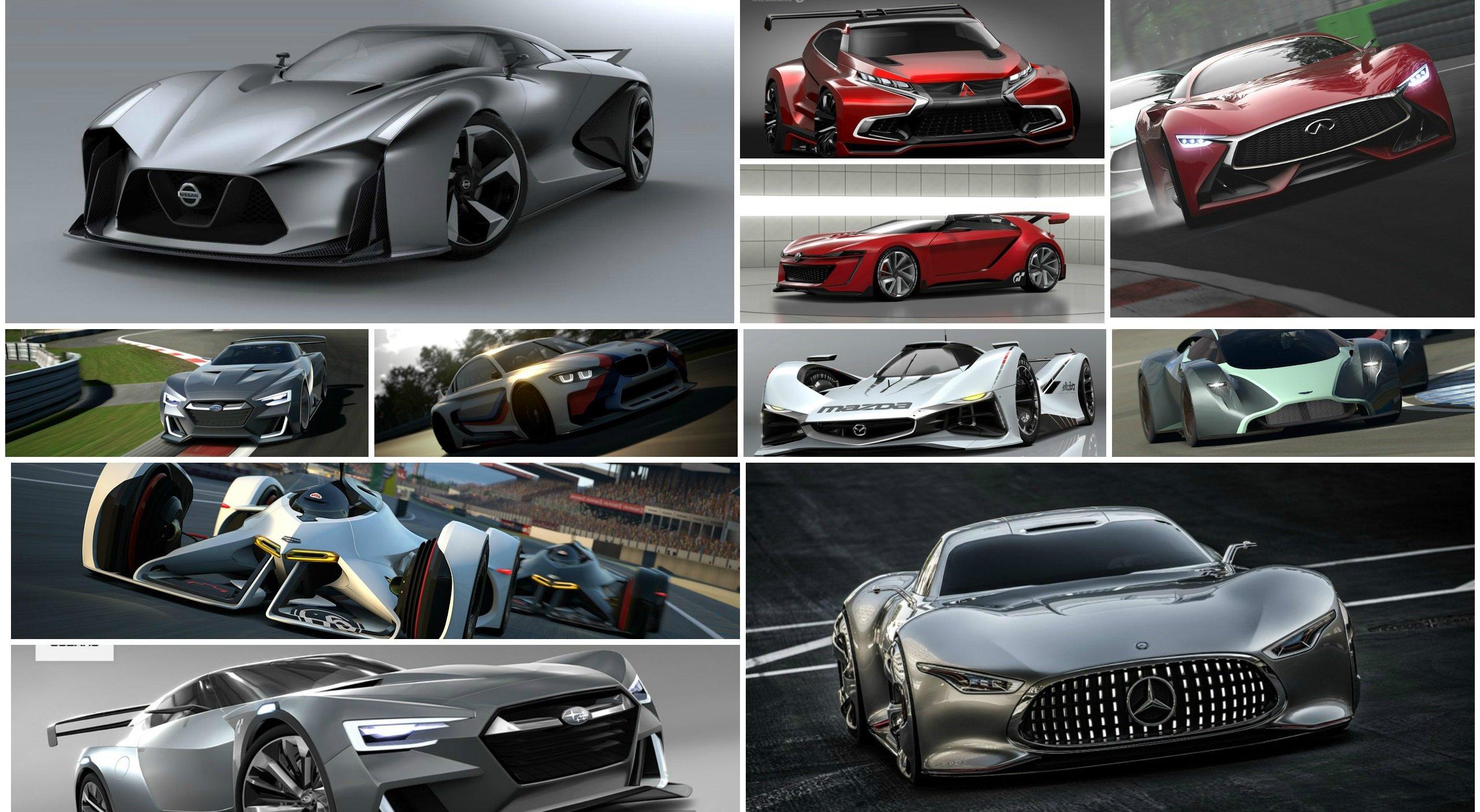 Все концепткары из Gran Turismo 6 (Часть1)