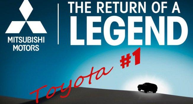Mitsubishi показала обнадеживающий тизер. Toyota остававшаяся крупнейшим автопроизводителем в 2014 году, в нынешнем году может лишиться первого места
