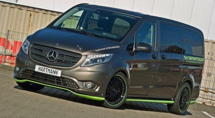 Российское тюнинг ателье сделало новый Mercedes Viano еще более шикарным