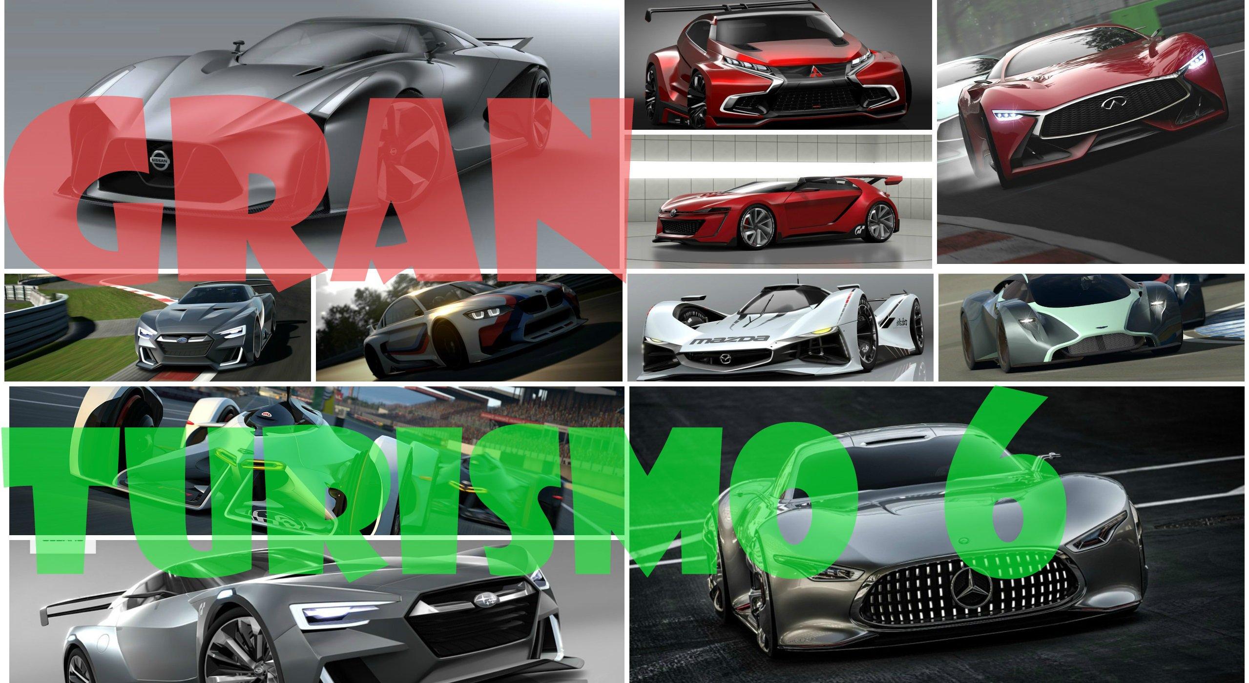 Все концепткары из Gran Turismo 6 (Часть2)