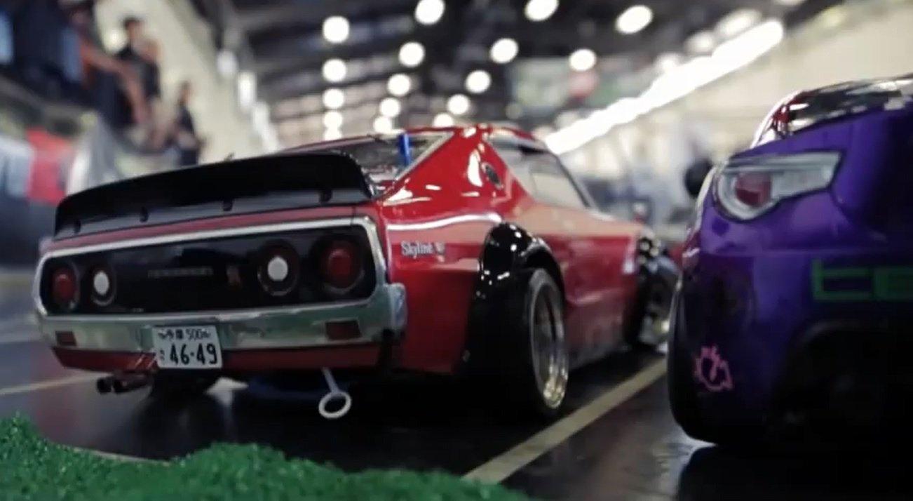 Видео: Дрифт и погони на радиоуправляемых моделях автомобилей