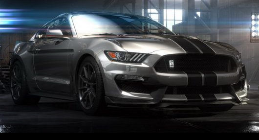 ��������� �������� Ford Shelby Mustang GT350R �� ���������� � �������� 2015 ����