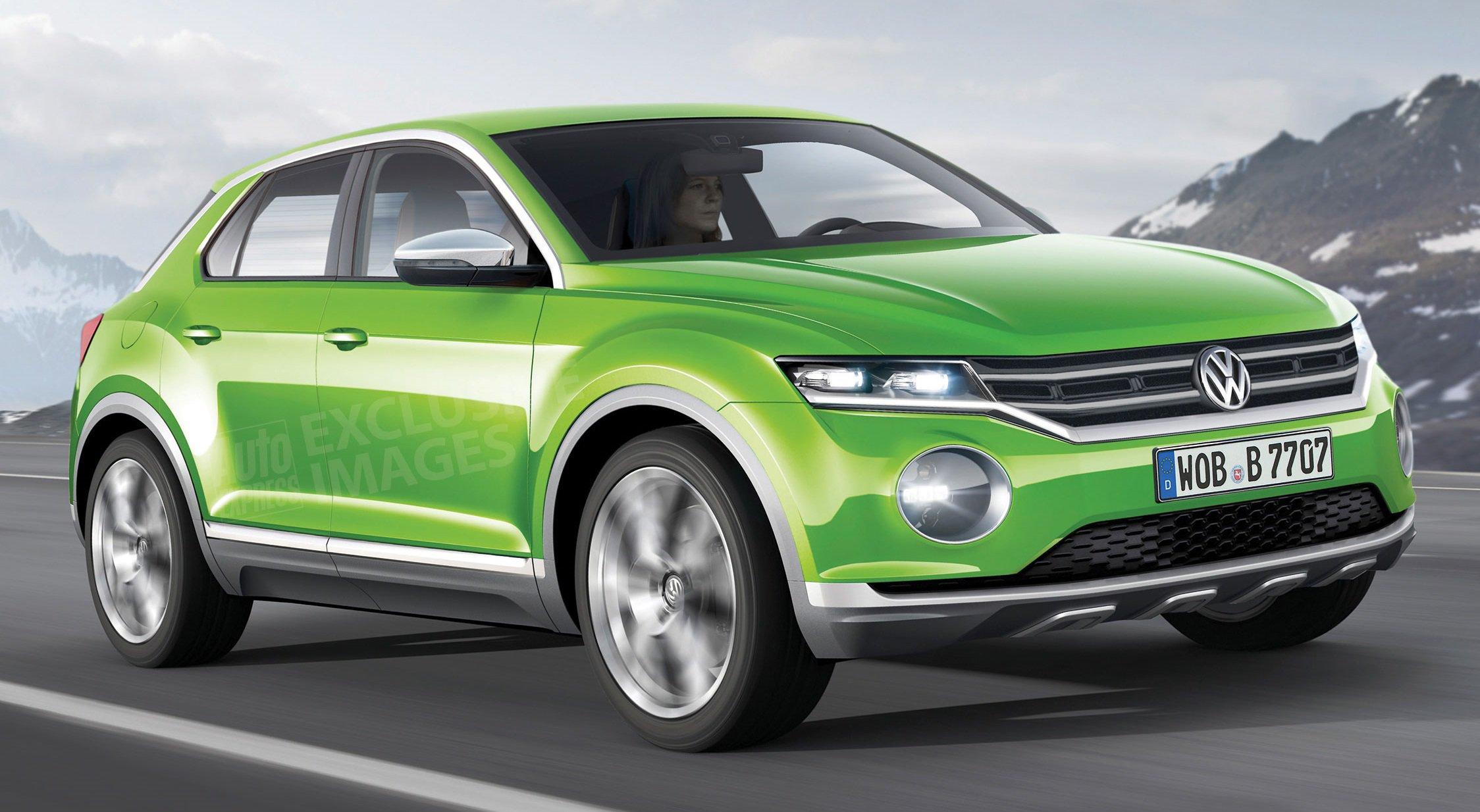 Новый Volkswagen Polo принимает вид кроссовера