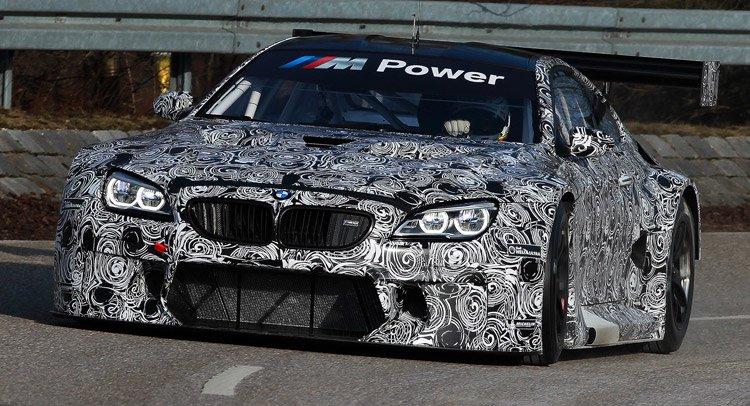 BMW выкатила новый гоночный прототип M6 GT3