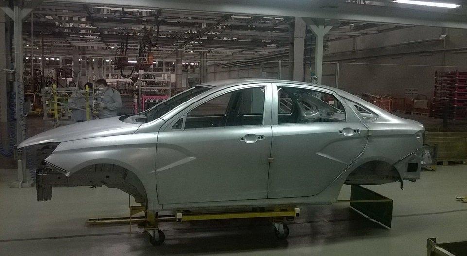АвтоВАЗ, серийное производство Lada Vesta началось