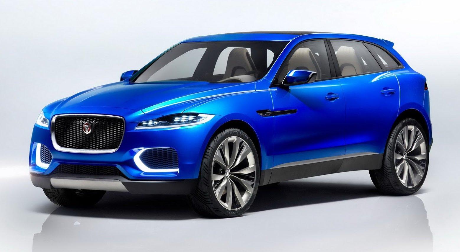 Доказательство того, что новый кроссовер Jaguar F-Pace один в один похож на концепт C-X17