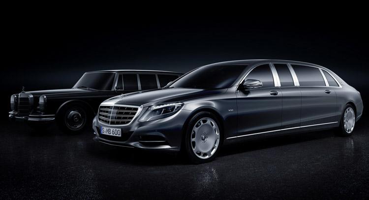 Mercedes benz pullman