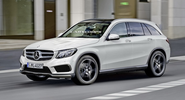 ����������: ����� Mercedes GLC plug in ������, �������� ���� ������ ����