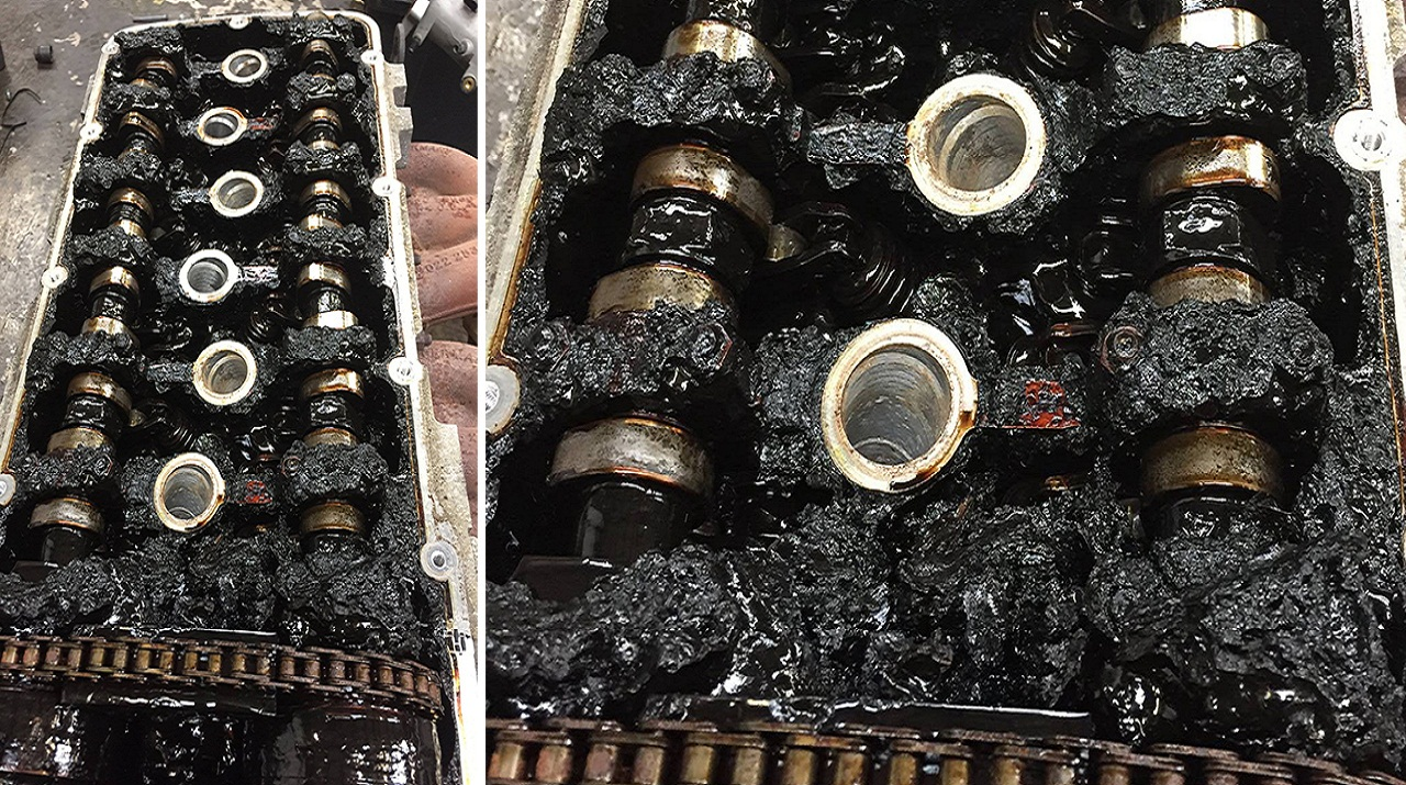 Почему из двигателя уходит масло
