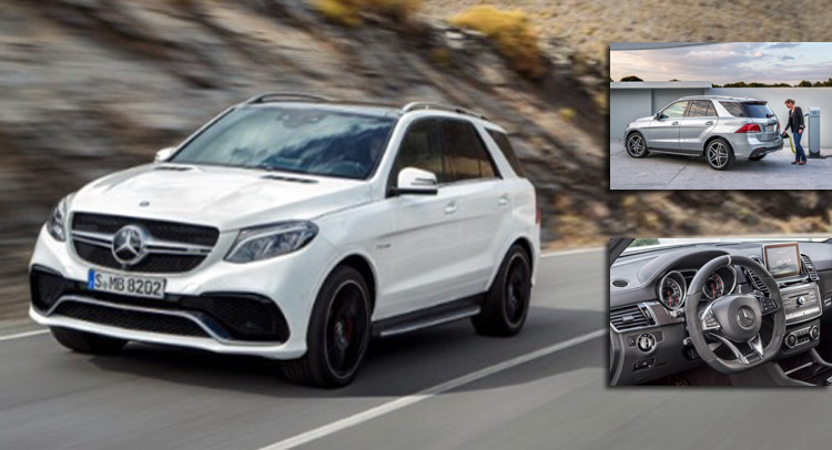 2016 Mercedes-Benz GLE: ������ ����������� ���������� ������������ ���������� ����