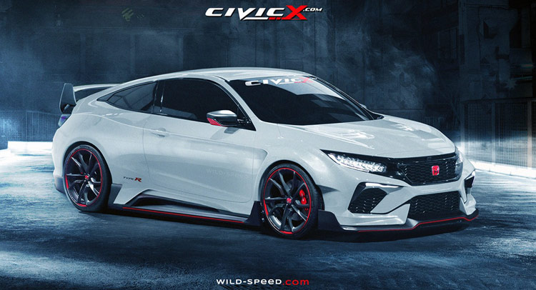 honda civic type r купе