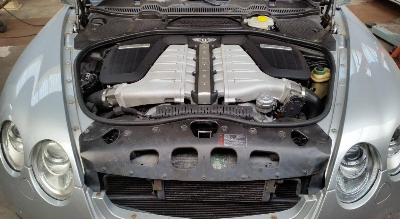 двигатель бентли континентал