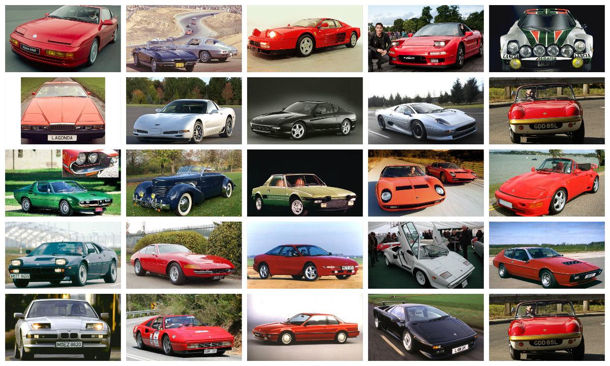 Самые красивые автомобили с