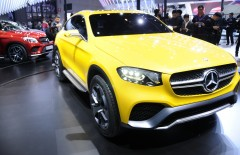 Фотографии: Мерседес GLC Coupe Concept на автосалоне в Шанхае