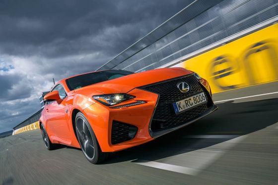 Lexus RC F TVD