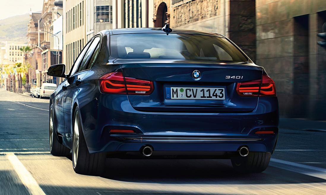 Сравнение 2016 BMW 3-серии с моделью 2015 года