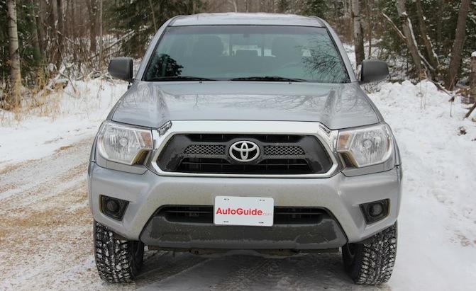 3. Toyota Tacoma (-6.9%)