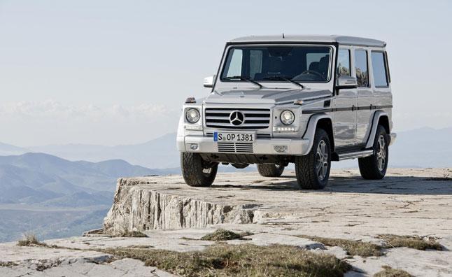 6. Mercedes G-Class (-8%)