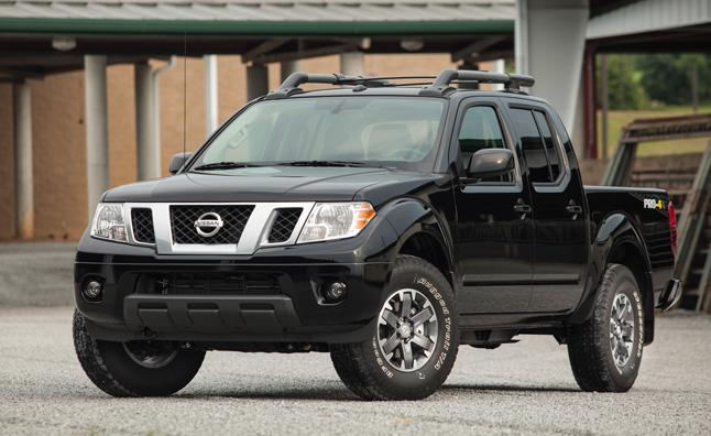 5. Nissan Frontier (-7.9%)